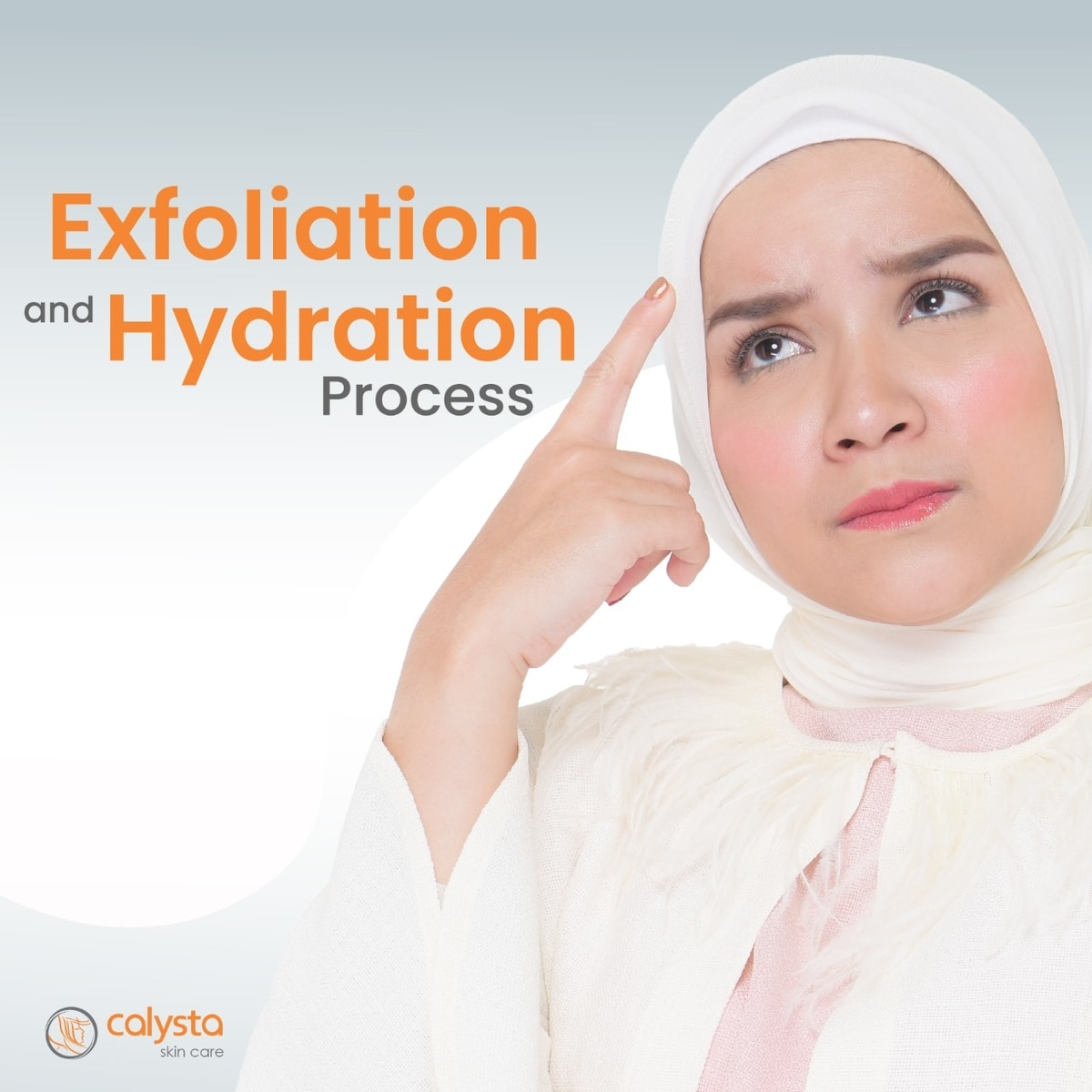 Exfoliation and Hydration Process