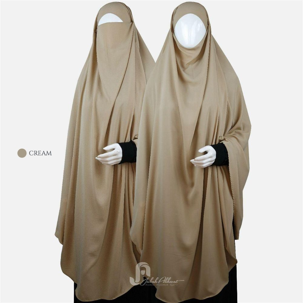 french khimar murah