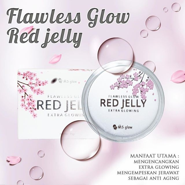 review red jelly ms glow