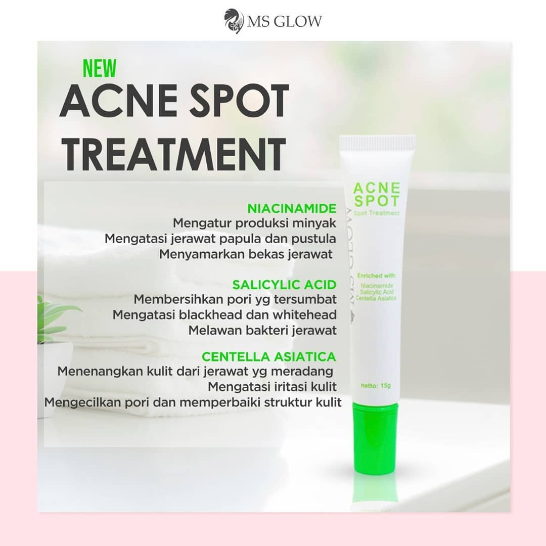 Produk Baru: MS Glow Acne Spot Treatment