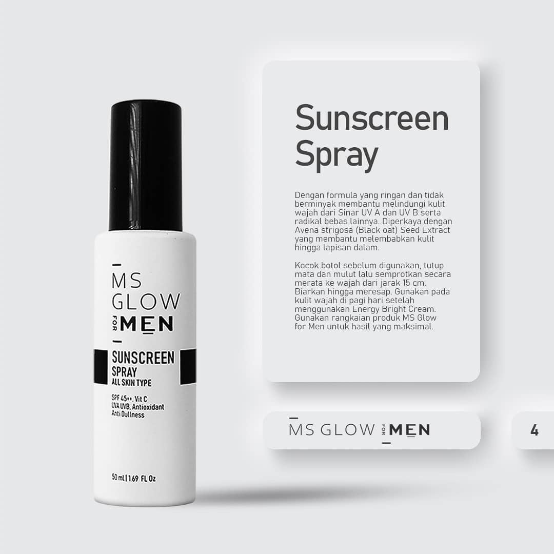 MS Glow Sunscreen Spray