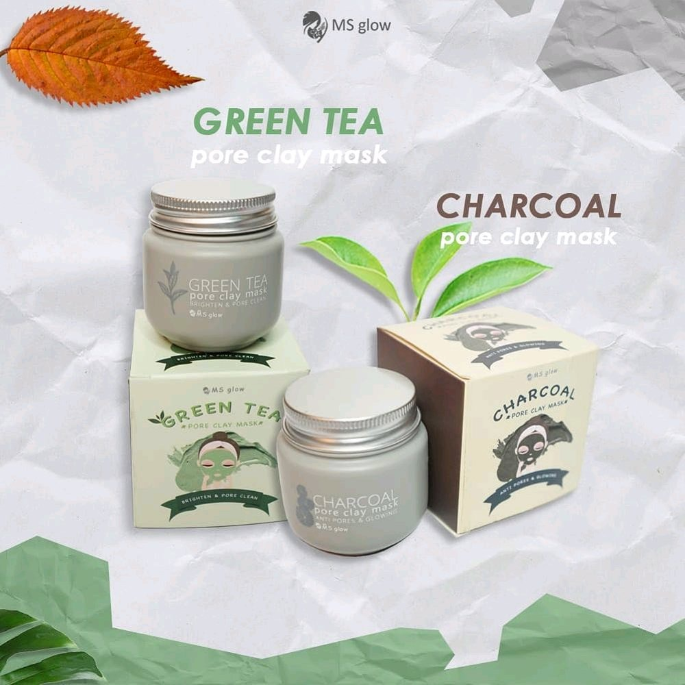 Clay Mask dari MS Glow