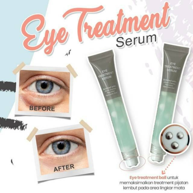 Eye Treatment Serum MS Glow