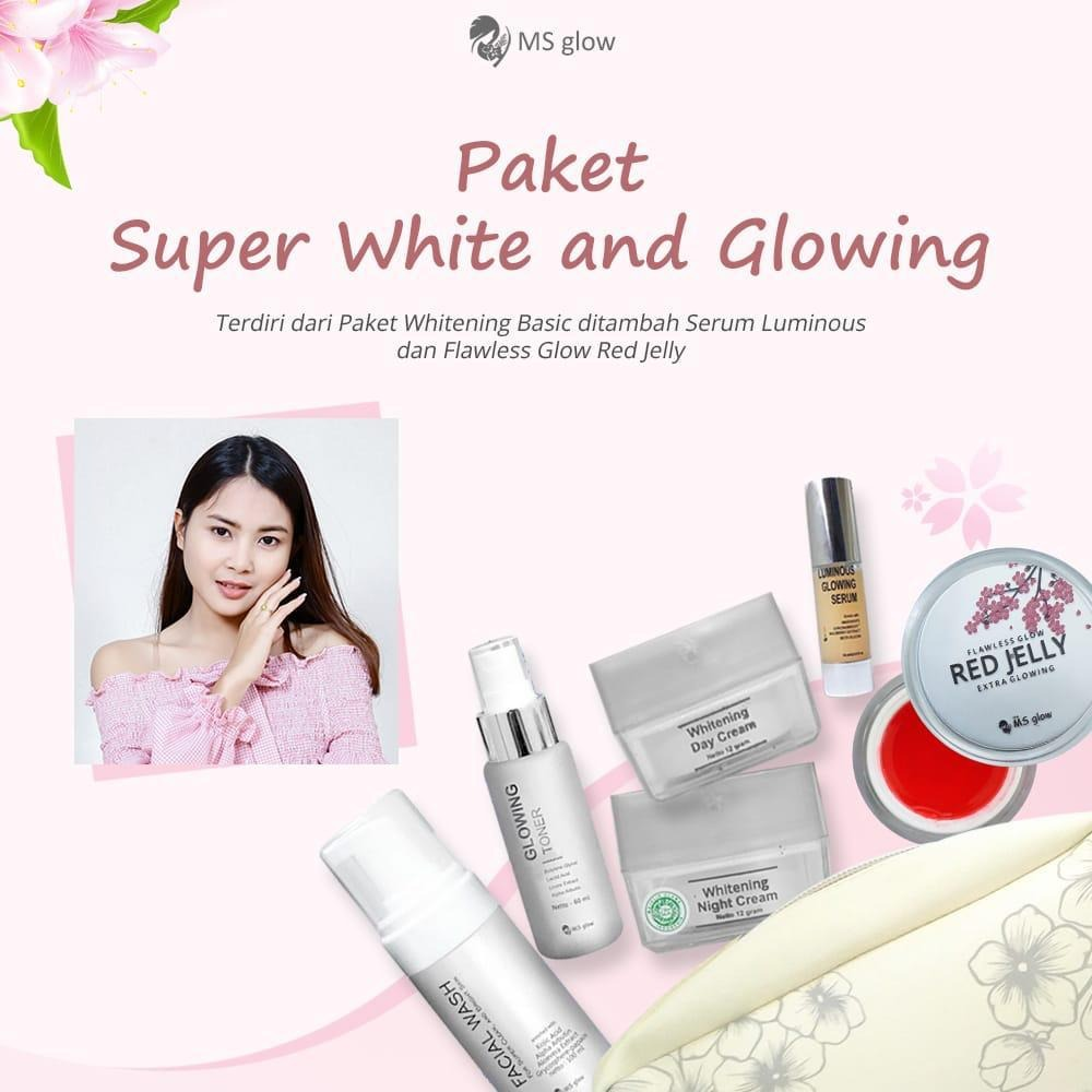 MS Glow Paket Extra Glowing