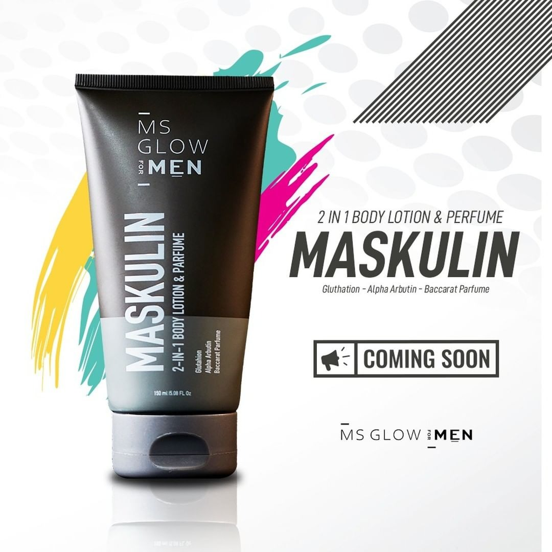 MS Glow For Men - MASKULIN