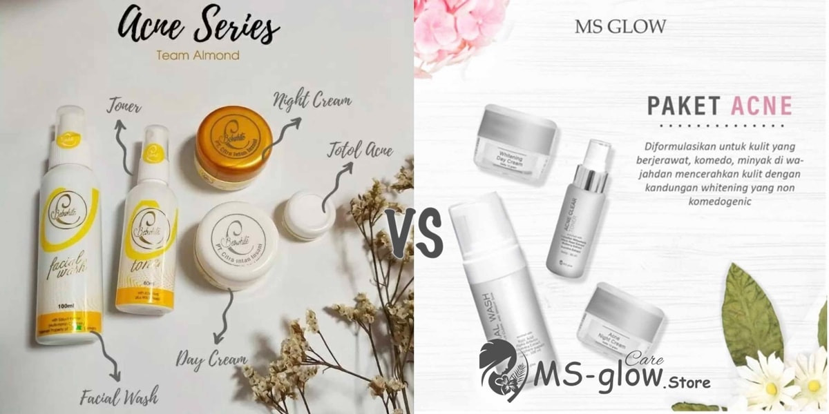 Review Bebwhite C Skincare Paket Acne VS MS Glow Paket Acne