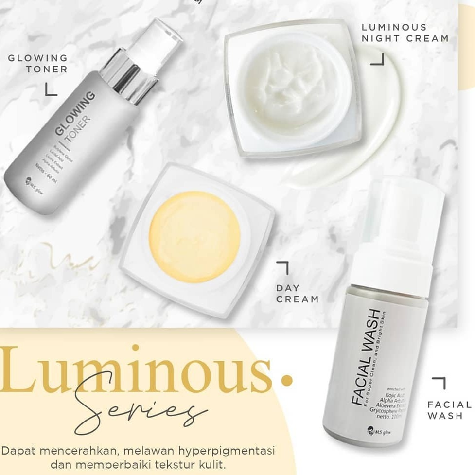 MS Glow Whitening Luminous Series