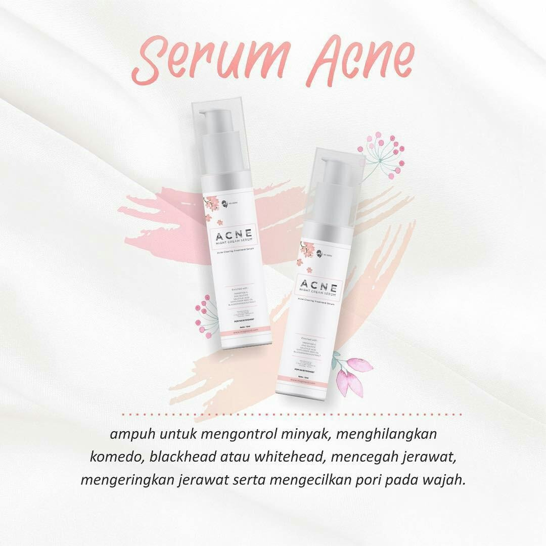 MS Glow Acne Serum
