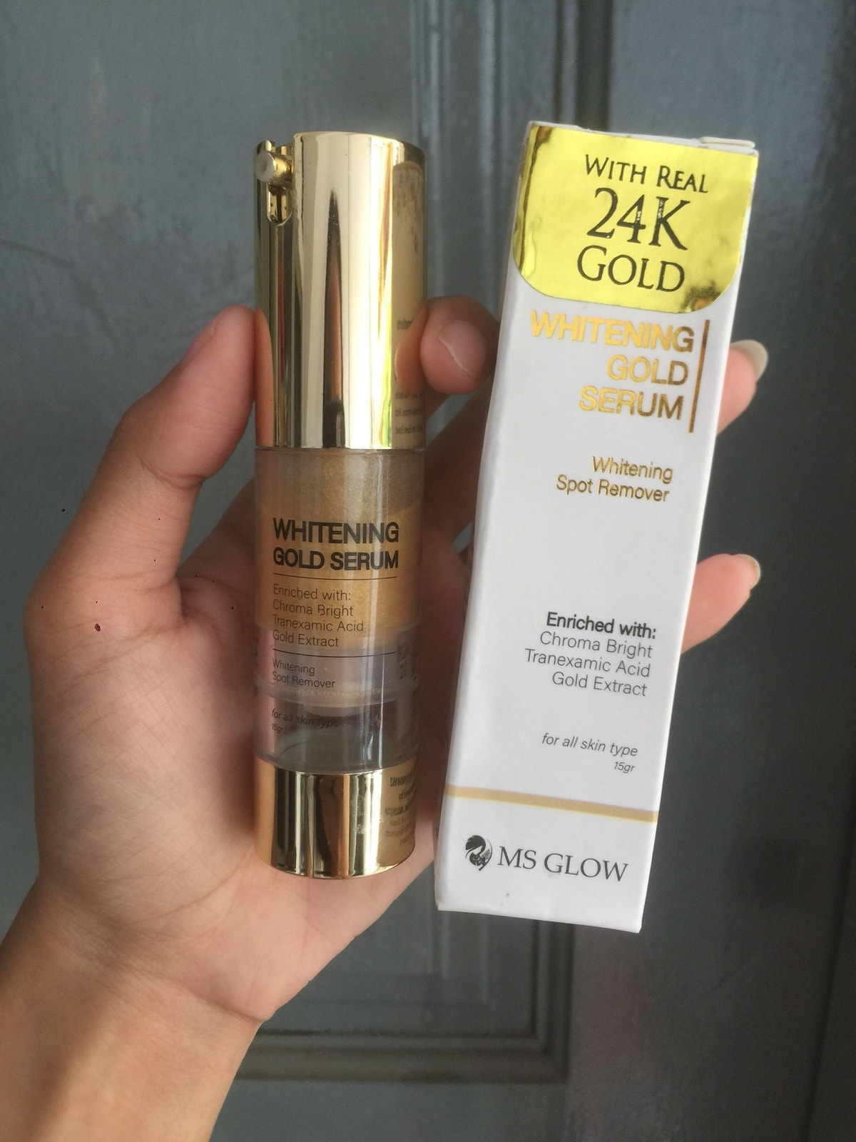 MS Glow Gold Serum