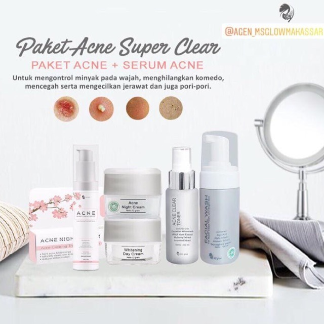 MS Glow Acne Super Clear