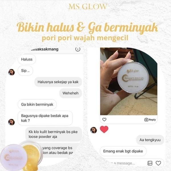 review ms glow kinclong