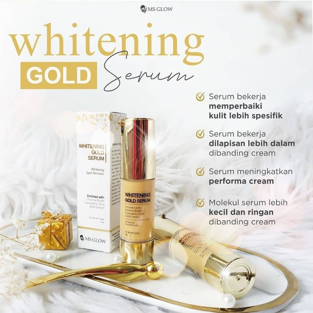Serum gold ms glow