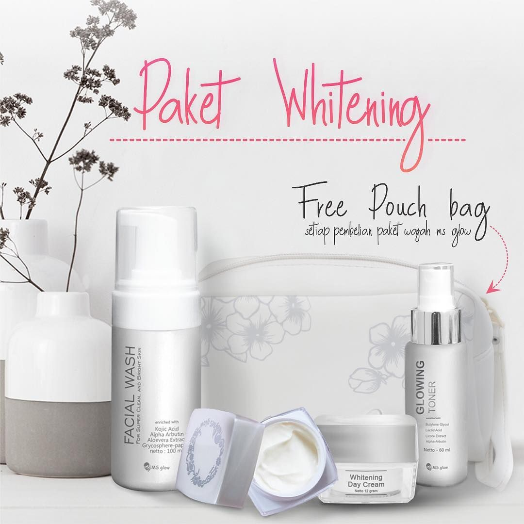 Paket MS Glow Whitening Basic