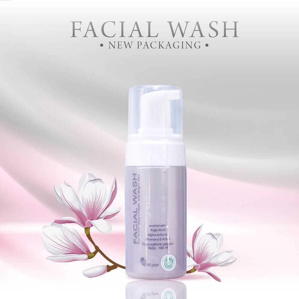 Gambar Facial Wash MS Glow