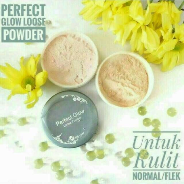 Bedak MS Glow Loose Powder