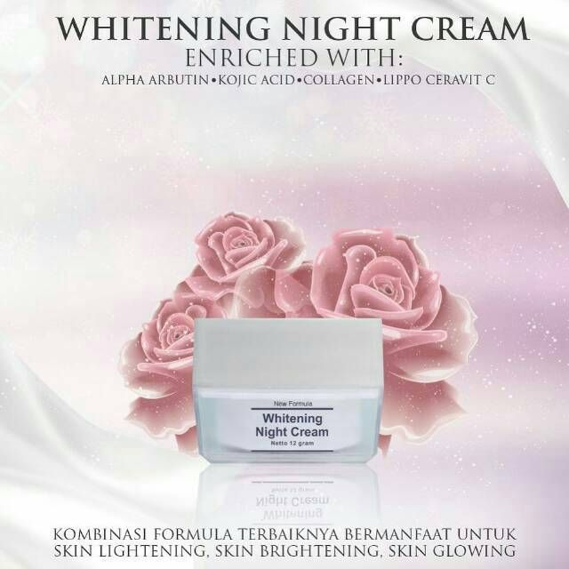 Gambar Whitening Night Cream MS Glow