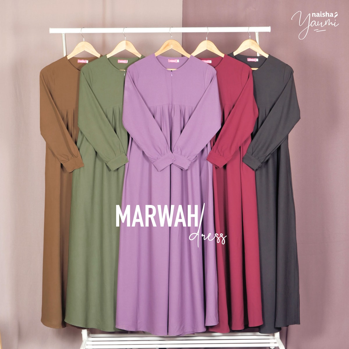 Marwah Dress by Naisha