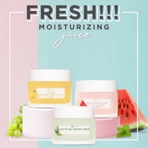 MS Glow Moisturizer: Waternelon Hydrating, Yuzu Revitalizing