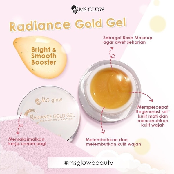 Testimoni & Review Radiance Gold Gel