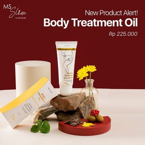 Produk Baru: MS glow Sliming Body Treatment Oil