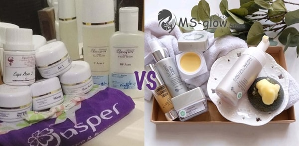 Jasper vs MS Glow: Perbandingan Produk dan Treatment