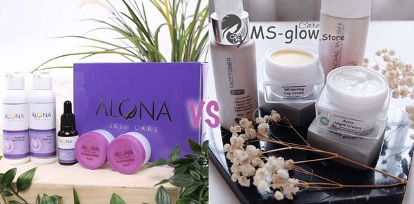 Alona vs MS Glow: Perbandingan 2 Brand Skin Care Ternama