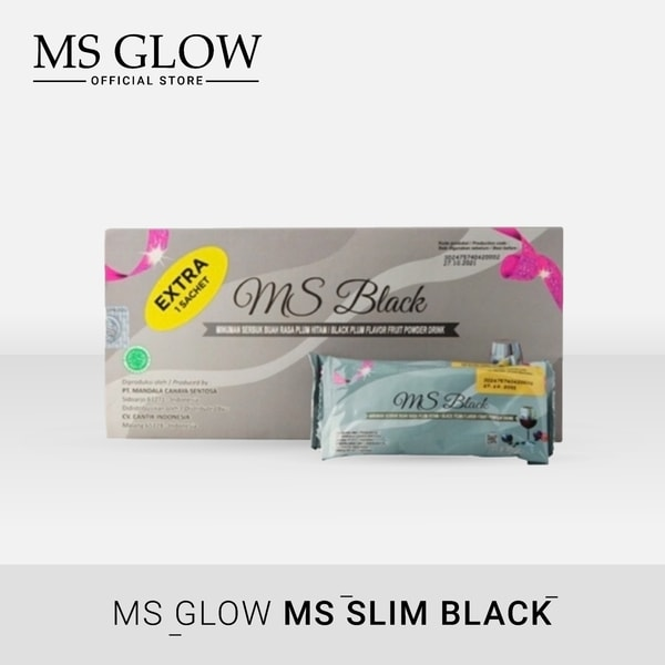 Ms Slim Black