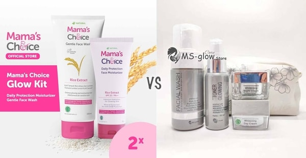 Mama's Choice 2 in 1 VS MS GLOW Whitening Series