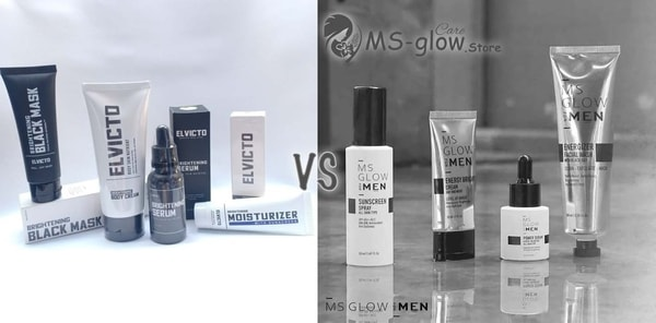 ELVICTO Skincare Pria VS MS Glow For Men