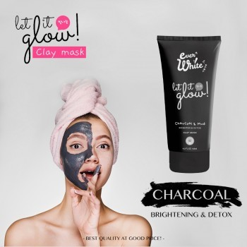 Everwhite Charcoal Clay Mask