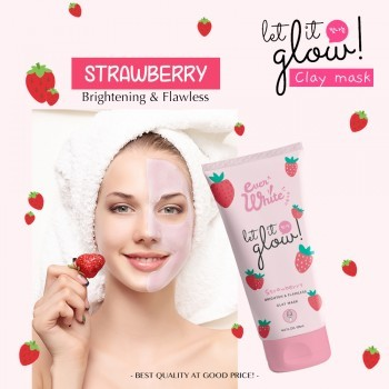 Everwhite Strawberry Clay Mask