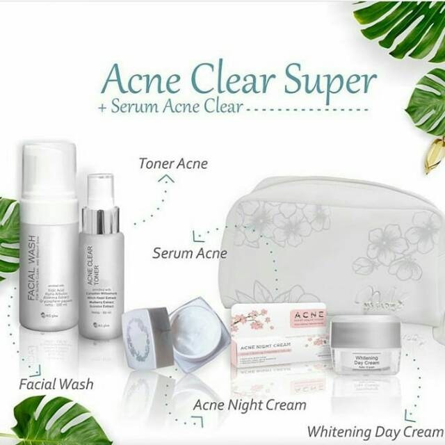 ms glow acne clear super