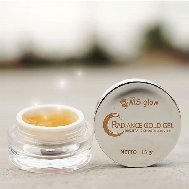 ms glow radiance gold gel